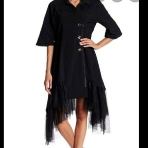 TOV LA  black dress or can wear as a jacket /coat!